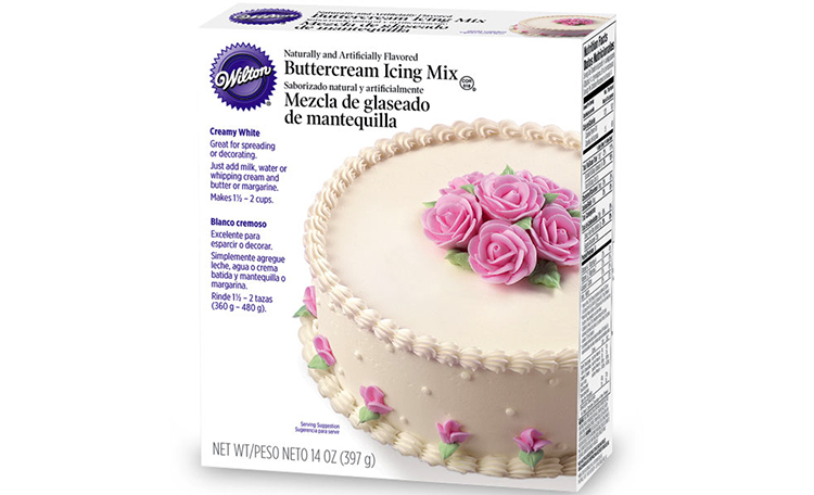 Wilton Creamy White Buttercream Icing Mix