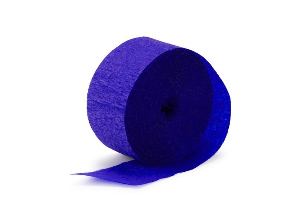 Crepe Paper Streamer - Royal Blue