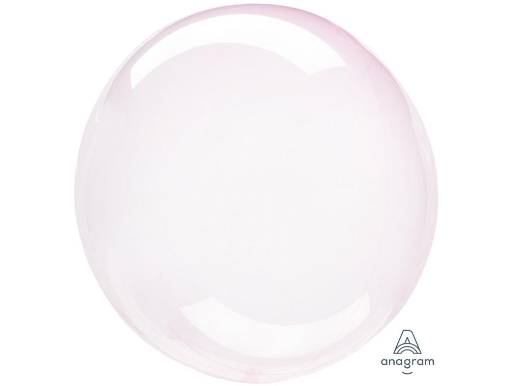 Crystal Clearz Balloon - Light Pink