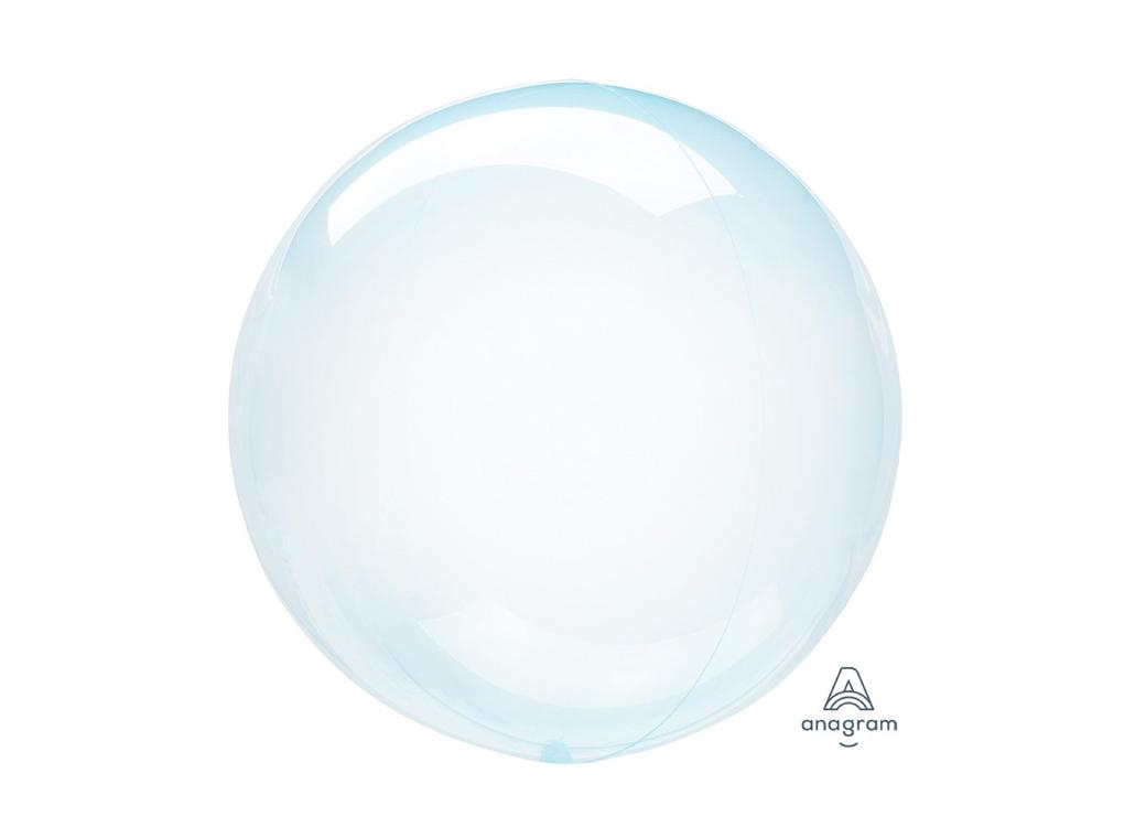 Crystal Clearz Petite Balloon - Blue