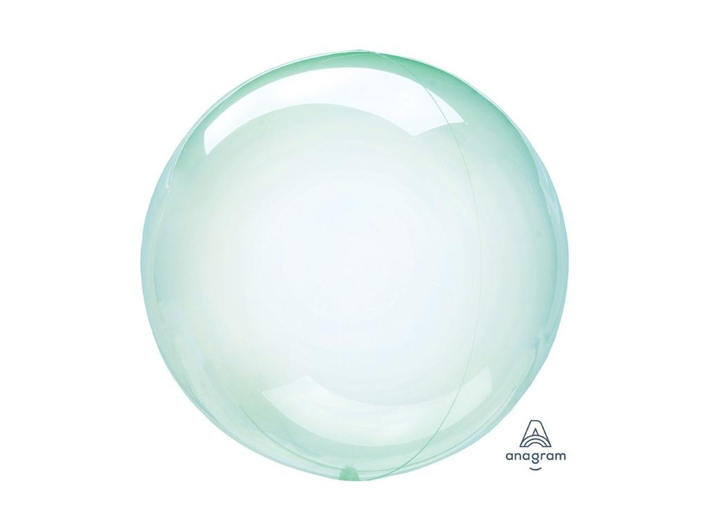 Crystal Clearz Petite Balloon - Green