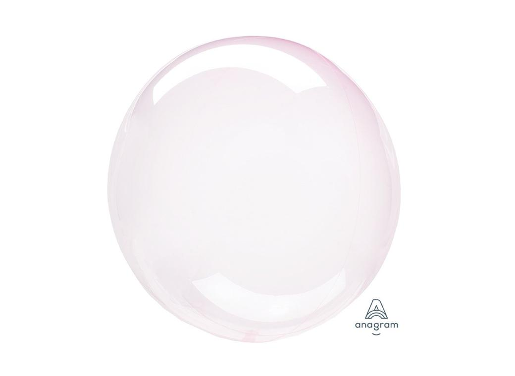 Crystal Clearz Petite Balloon - Light Pink
