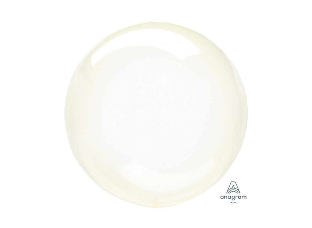Crystal Clearz Petite Balloon - Yellow