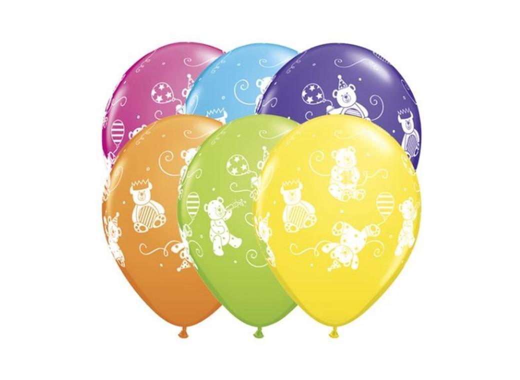 Cuddly Bears Balloons - 5pk