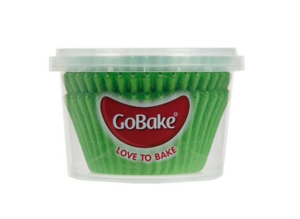 Cupcake Cases 72pk Green