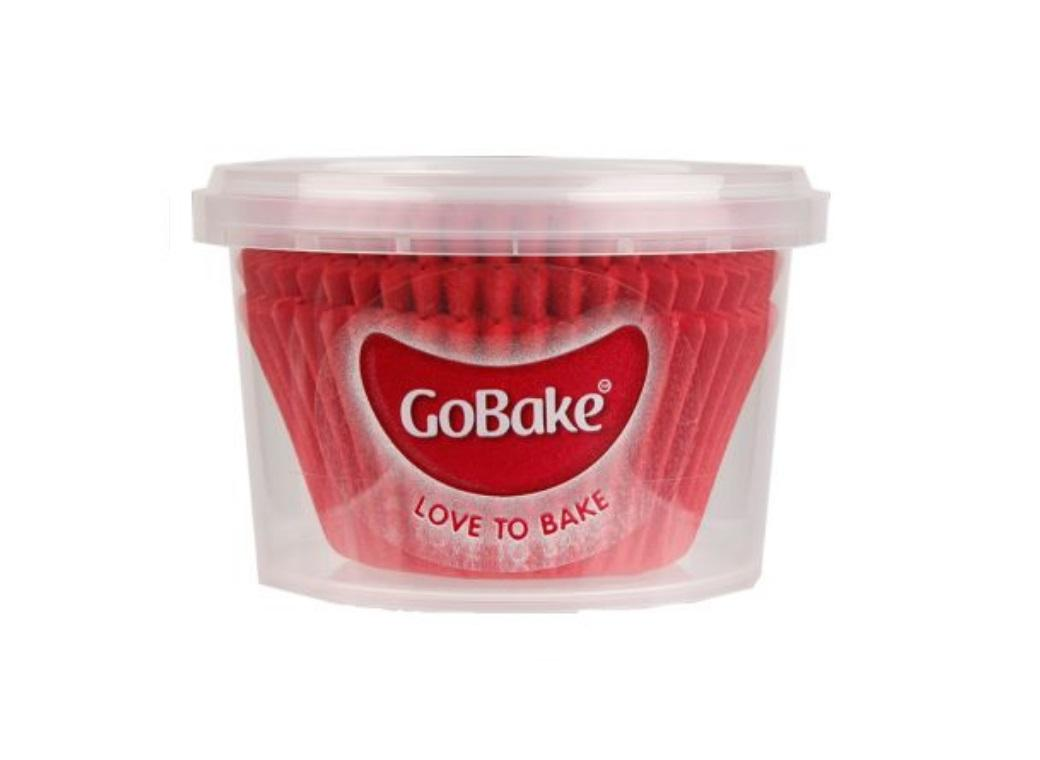 Cupcake Cases 72pk Red