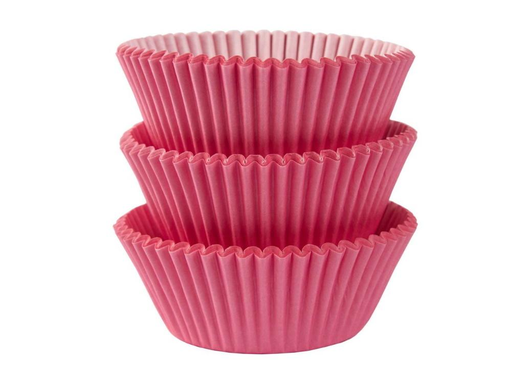 Cupcake Cases 75pk New Pink