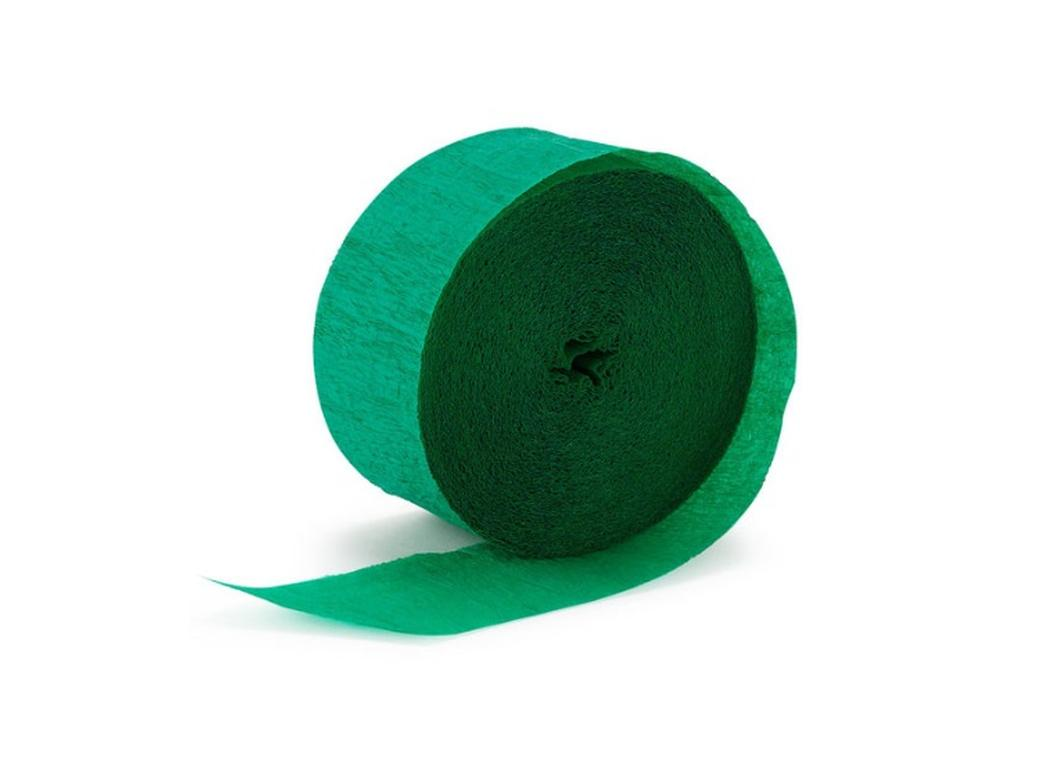 Crepe Paper Streamer - Dark Green