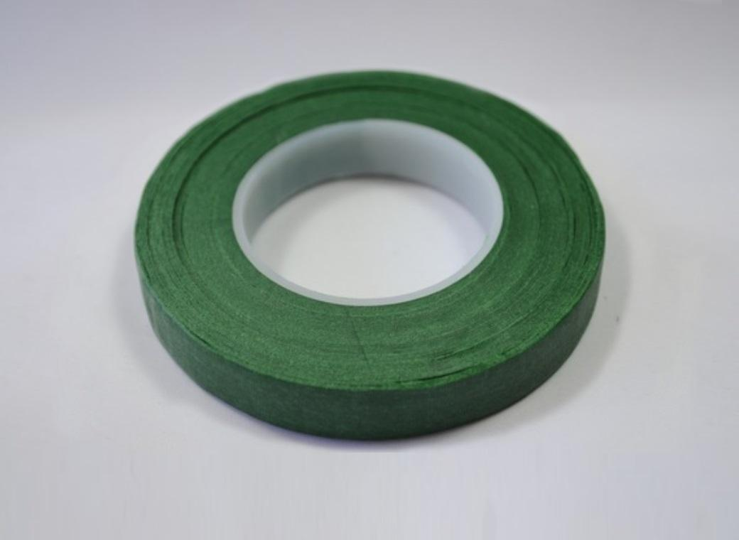 Dark Green Floral Tape 12mm