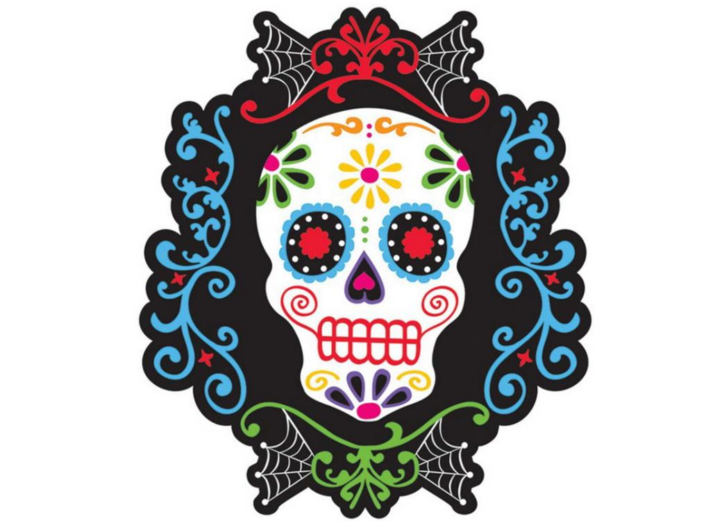Day of the Dead Cutout Decoration
