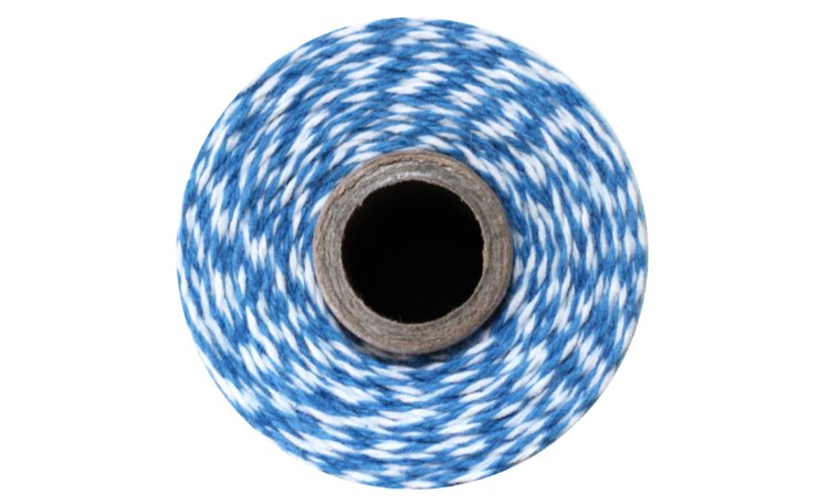 100% Cotton Bakers Twine – Denim Blue