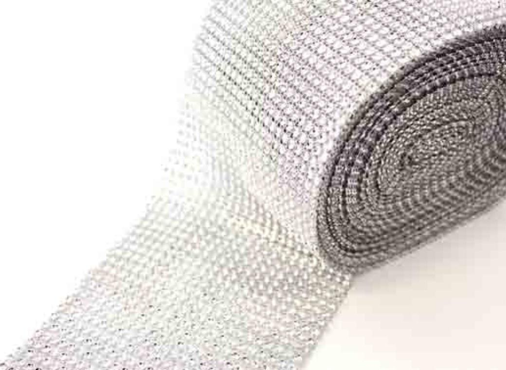 Diamante Wrap - Silver
