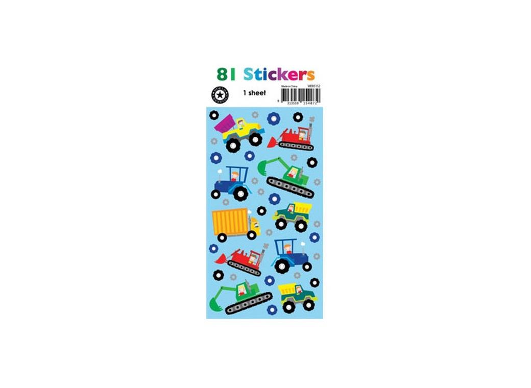 Foil Stickers - Little Diggers