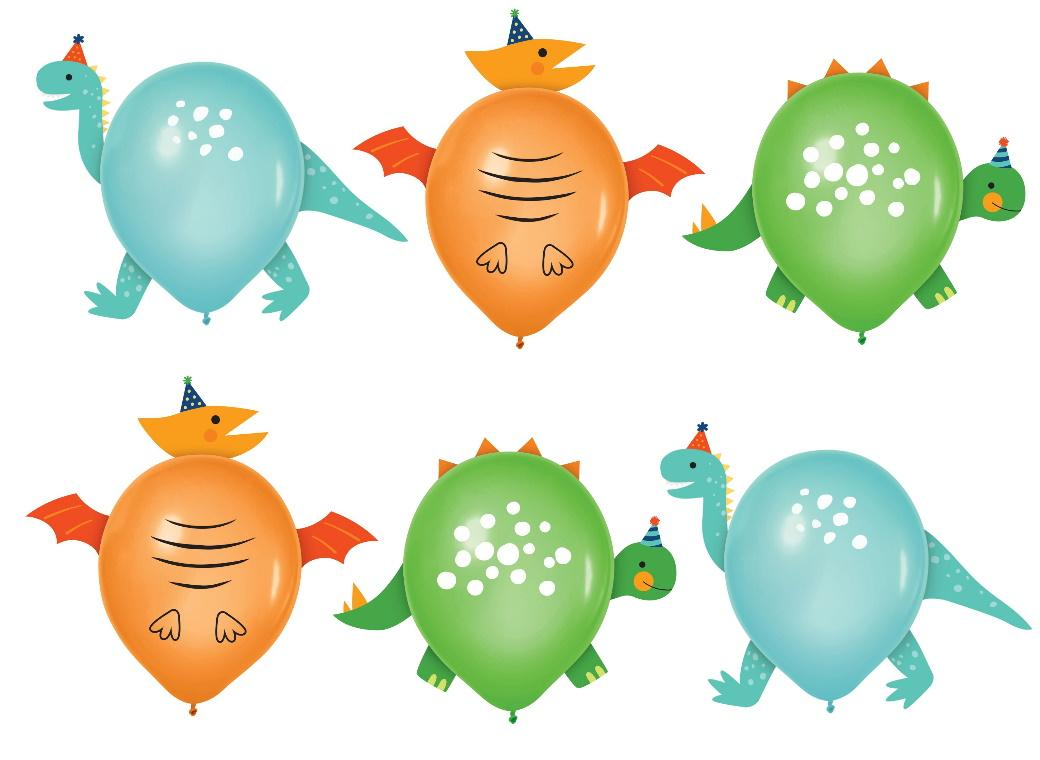 Dino-Mite Balloon Decorating Kit