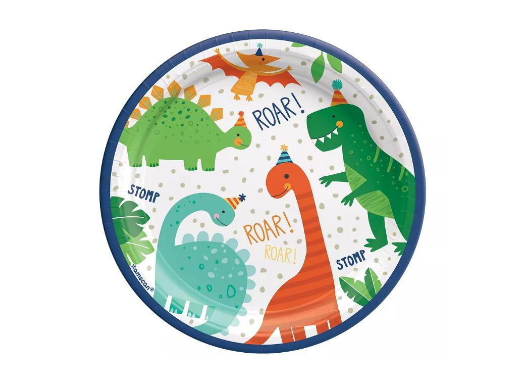 Dino-Mite Lunch Plates 8pk