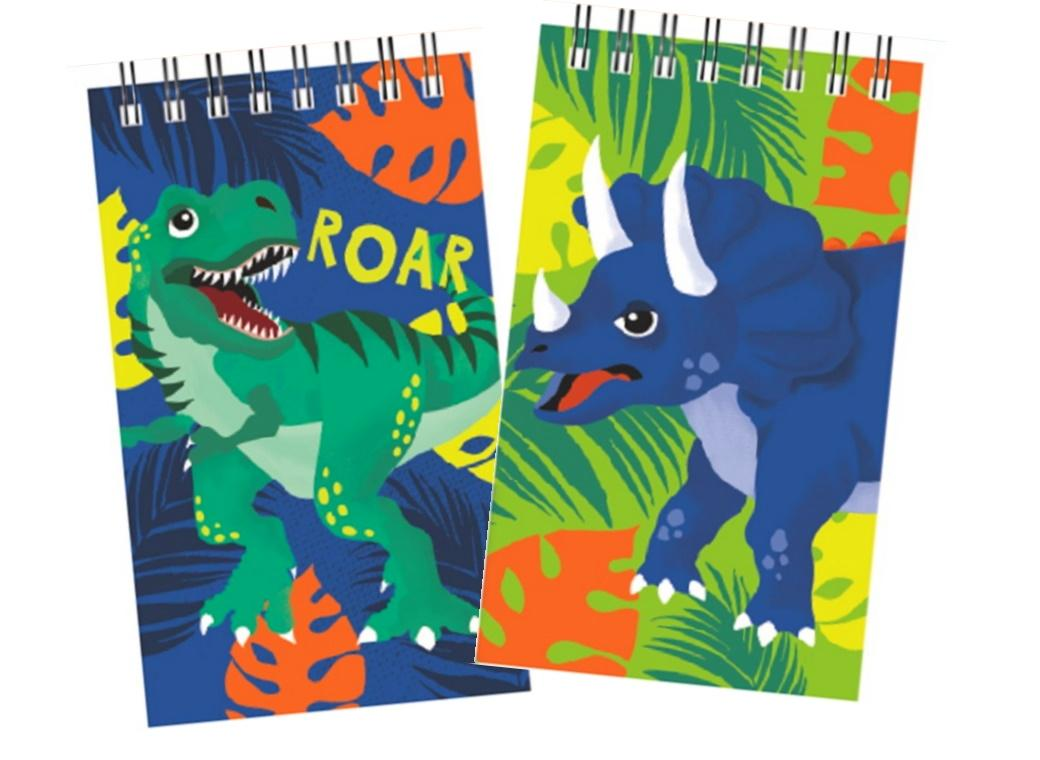 Dinosaur Notebooks 2pk