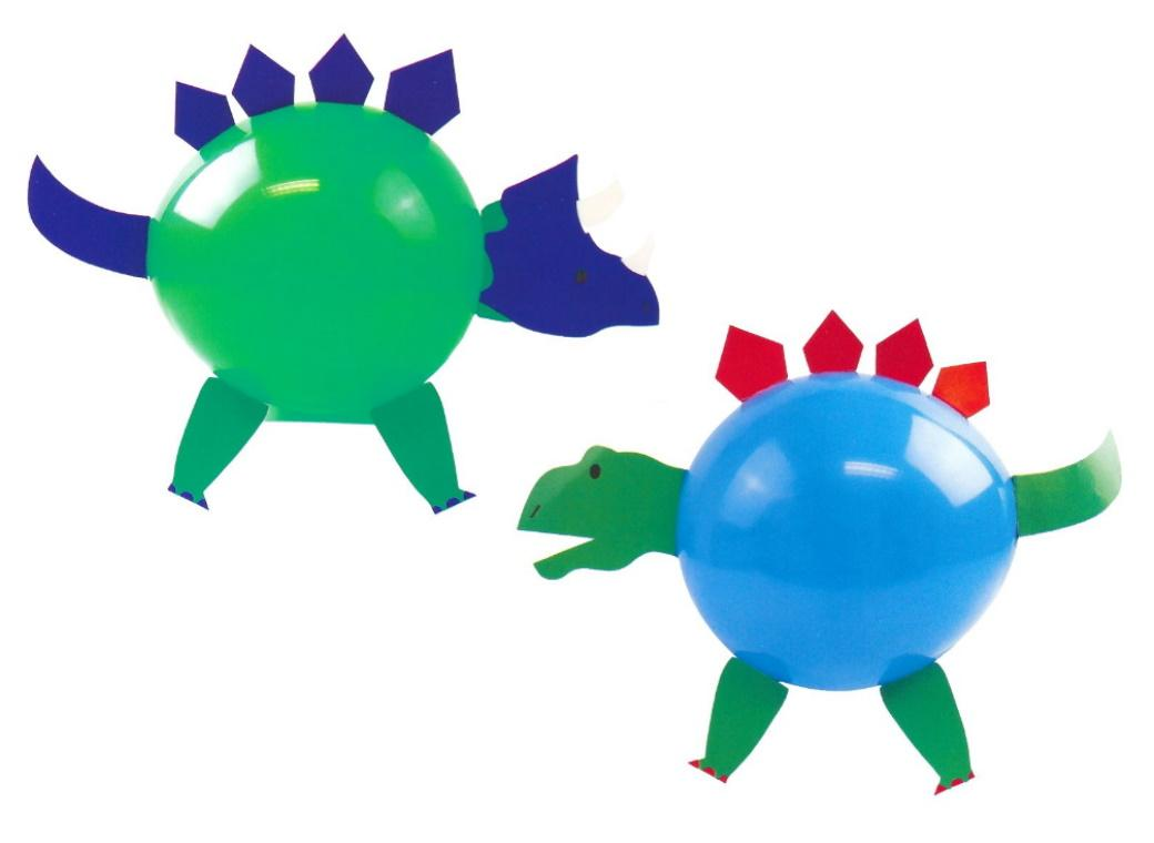 Dinosaur Roar Balloon Decorating Kit 4pk