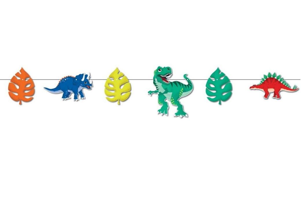 Dinosaur Roar Party Bunting