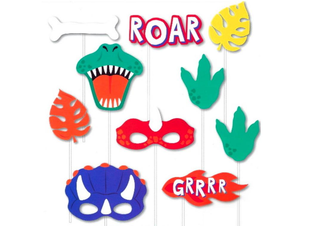 Dinosaur Roar Photo Props