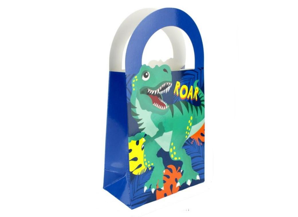 Dinosaur Roar Treat Bags 4pk