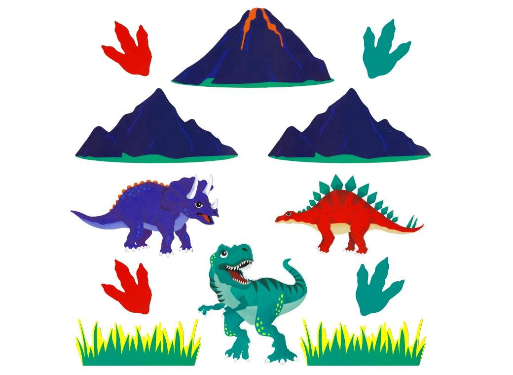 Dinosaur Roar Wall Decor Kit