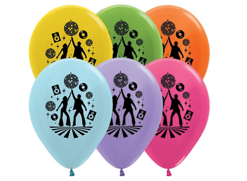 Disco Balloon - 5pk
