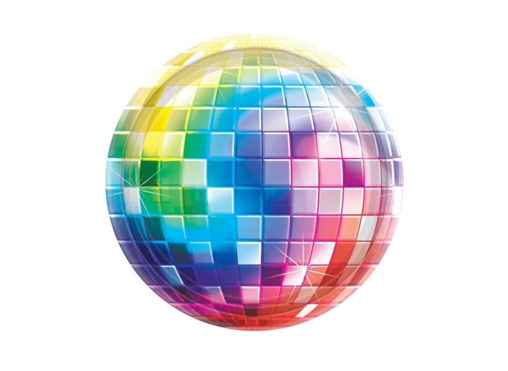 Disco Fever Lunch Plates 8pk