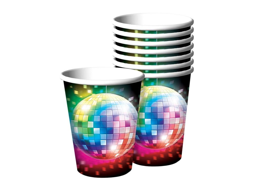 Disco Fever Cups 8pk
