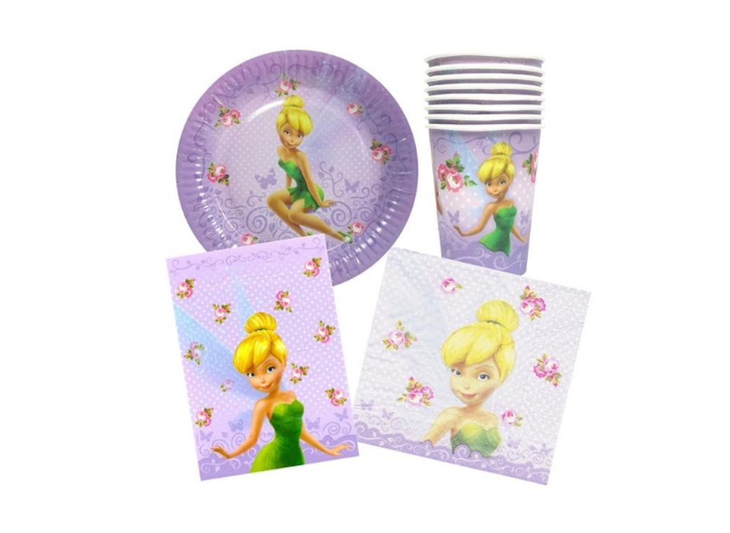 Disney Fairies Party Pack - 40pce