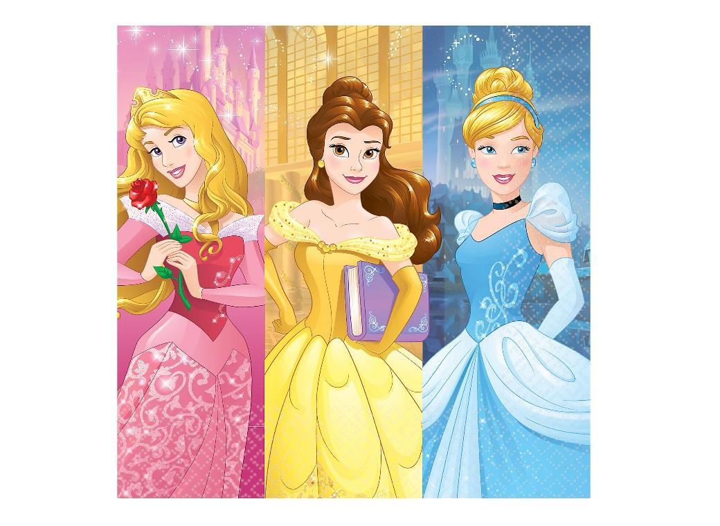Disney Princess Dream Big Lunch Napkins 16pk
