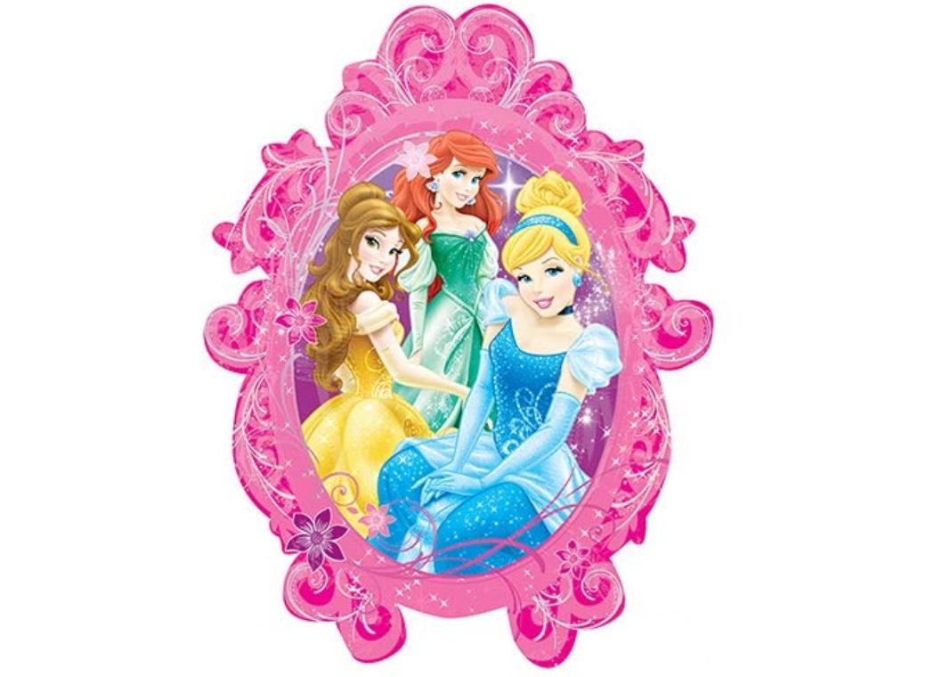 Disney Princess Frame SuperShape Foil Balloon
