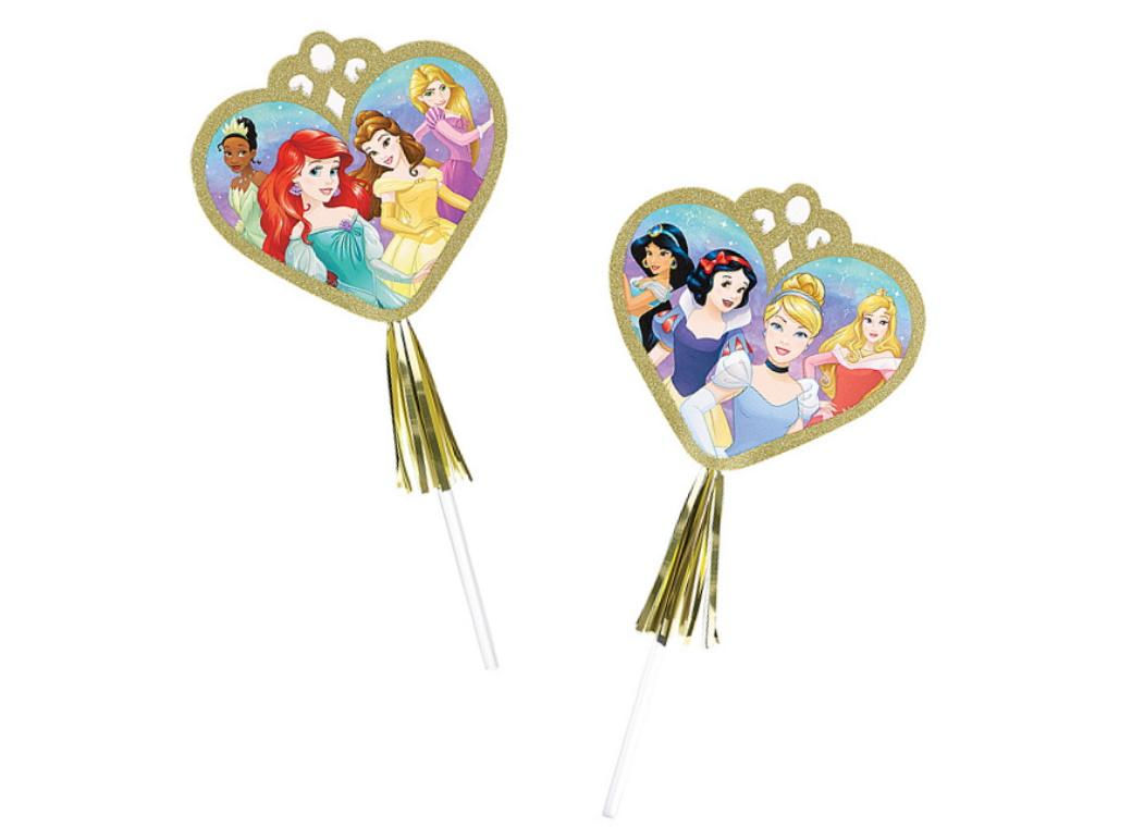 Disney Princess Glitter Wands 8pk