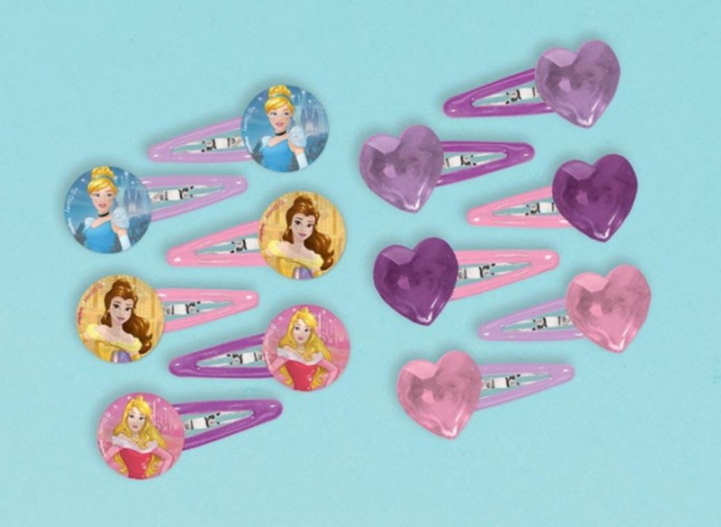 Disney Princess Hair Clips 12pk