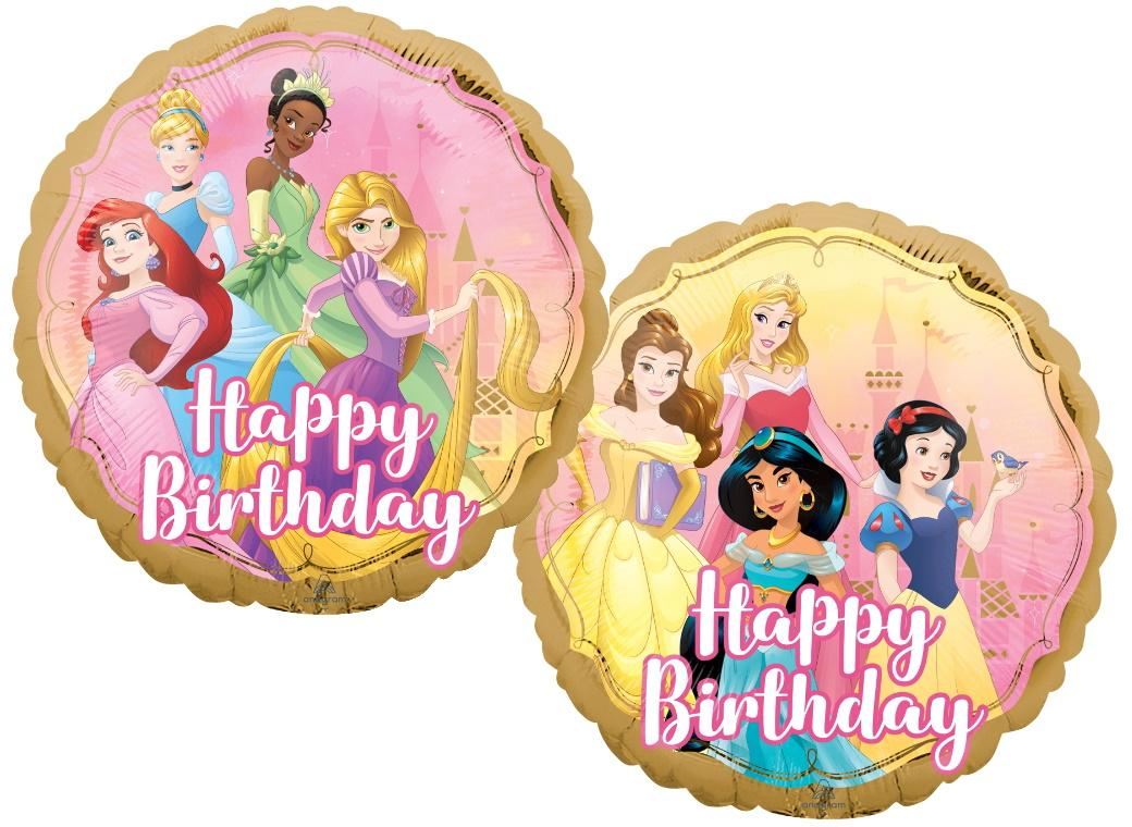 Disney Princess Happy Birthday Foil Balloon