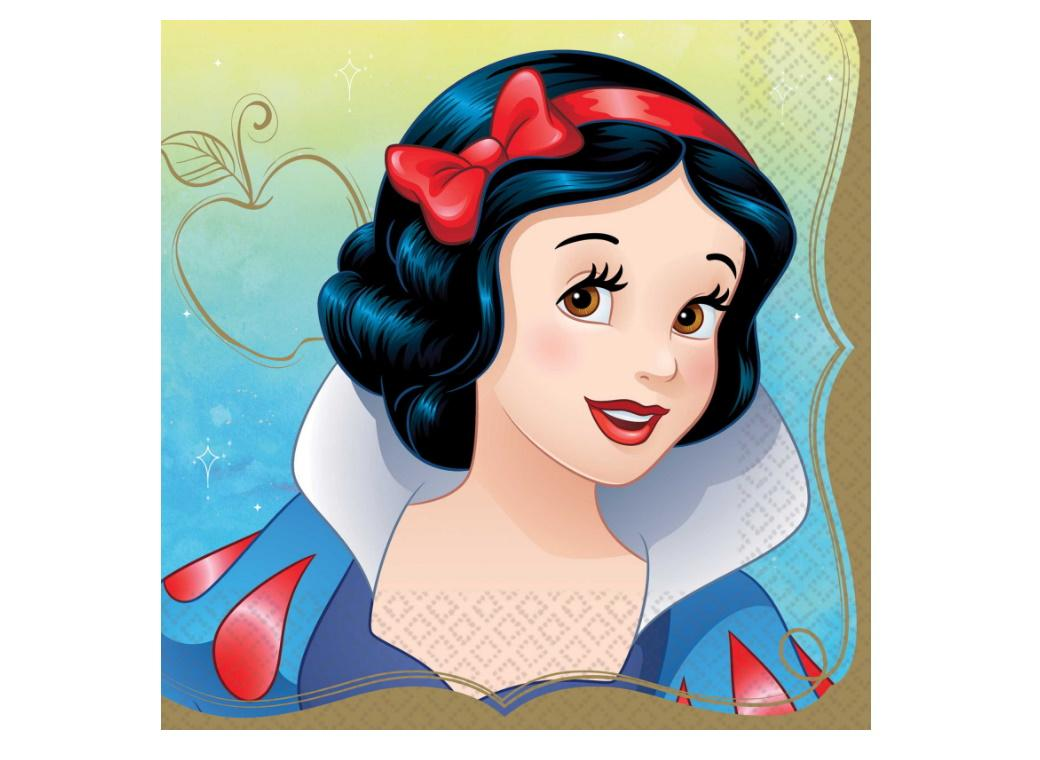 Disney Princess Snow White Lunch Napkins 16pk