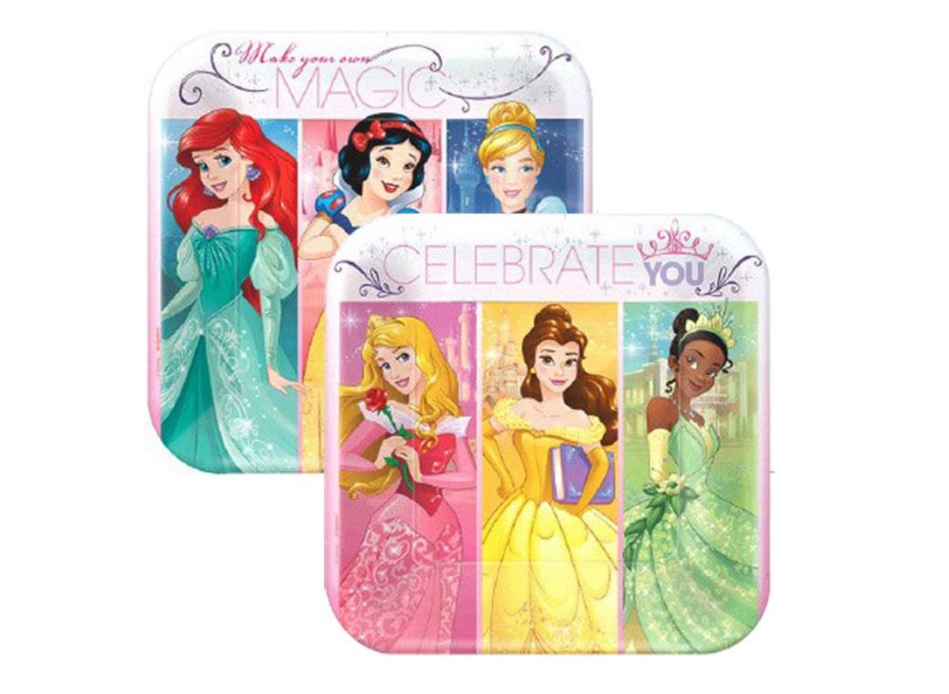 Disney Princess - Lunch Plates 8pk
