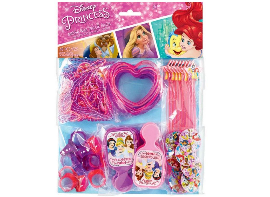 Disney Princess Mega 48pce Favour Pack