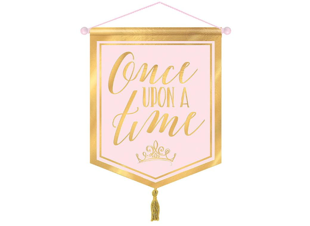 Disney Princess Once Upon A Time Banner
