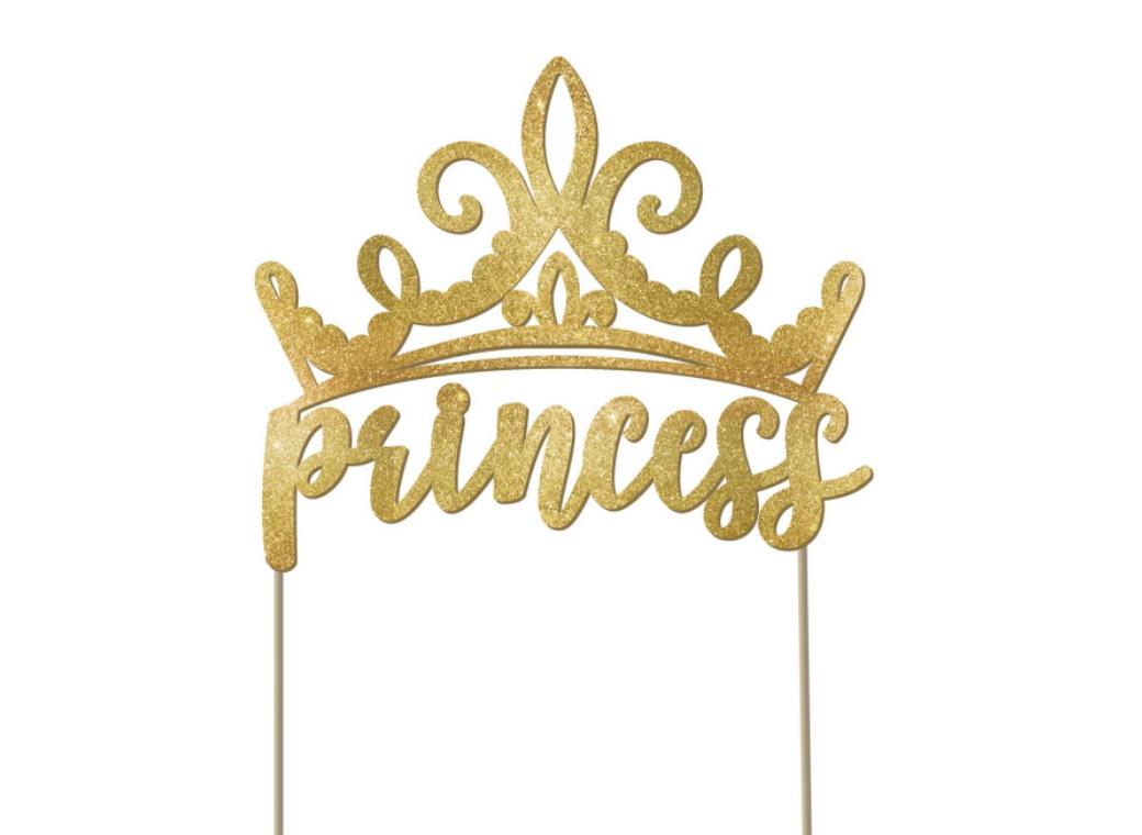 Disney Princess Once Upon A Time Cake Topper