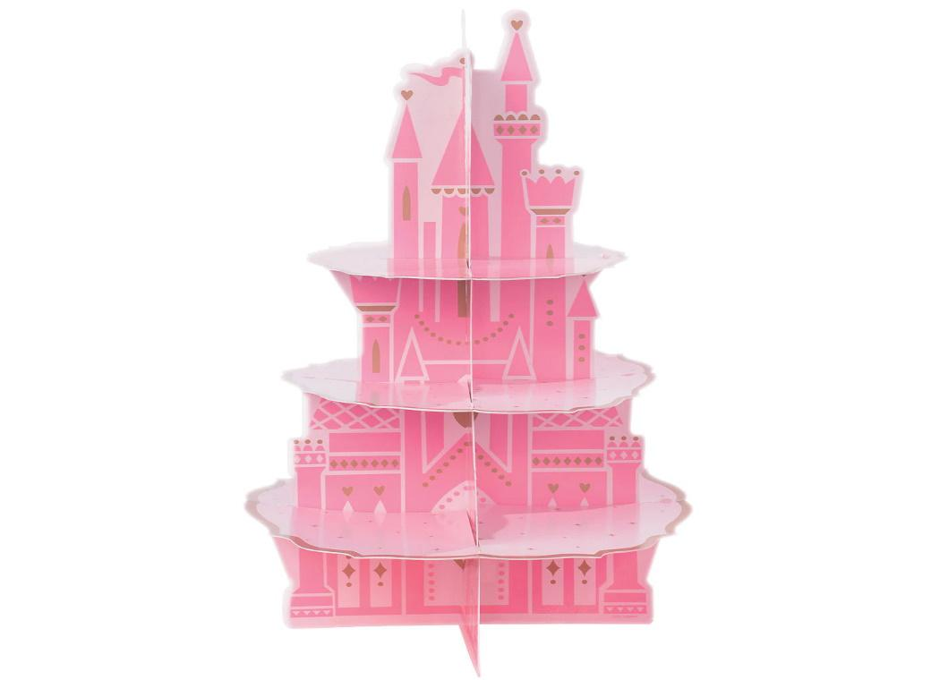 Disney Princess Castle 3-Tier Treat Stand