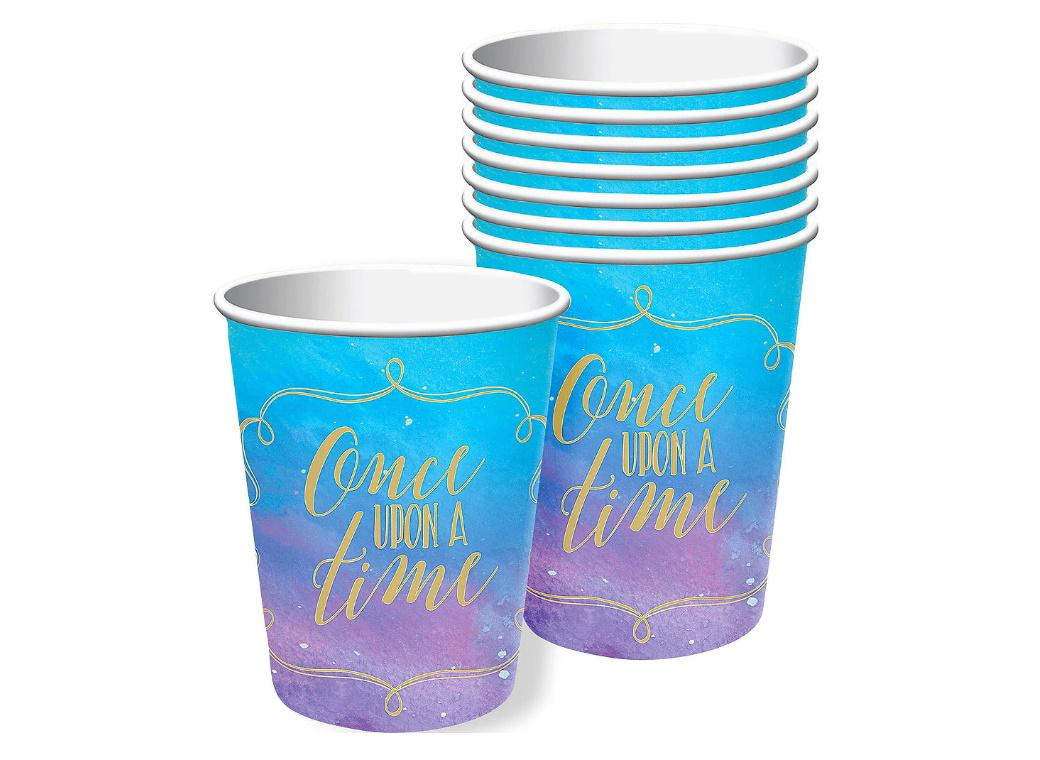 Disney Princess Once Upon A Time Cups 8pk