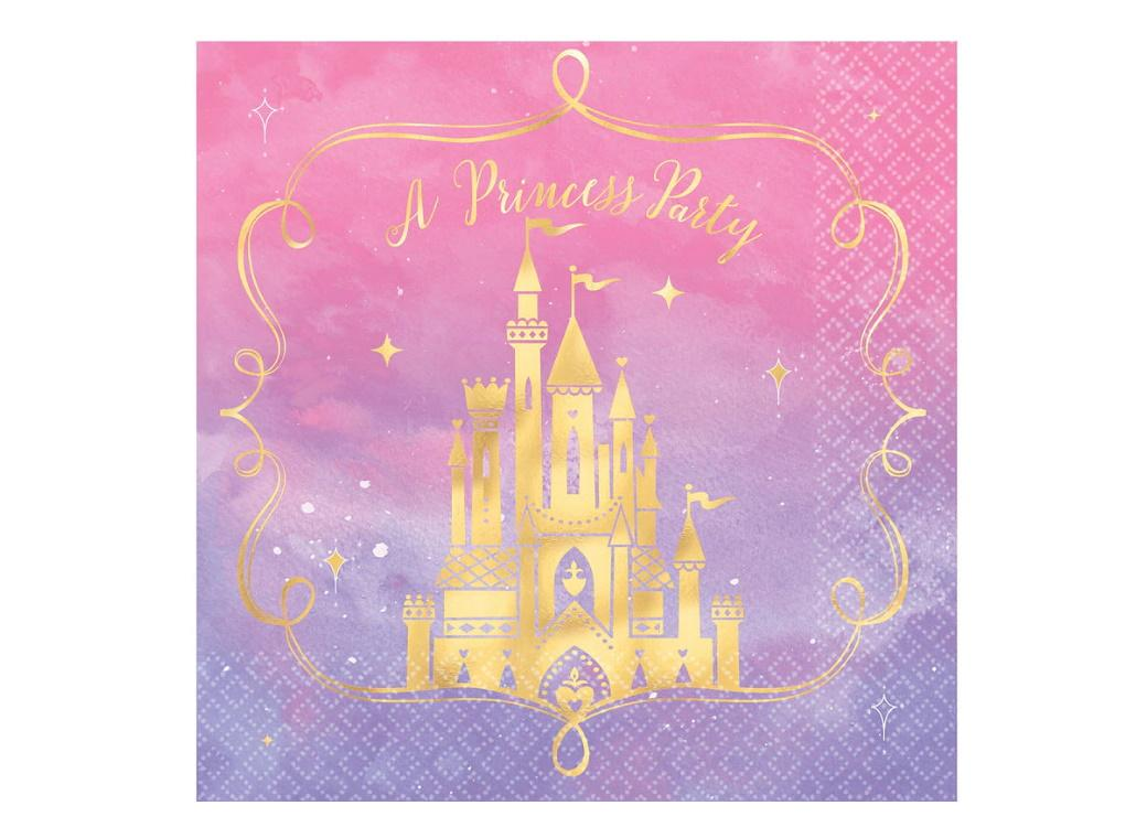 Disney Princess Once Upon A Time Lunch Napkins 16pk