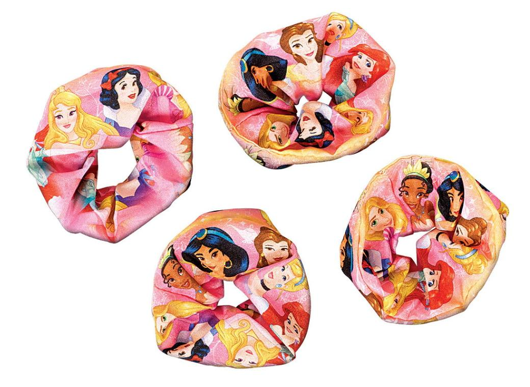 Disney Princess Once Upon A Time Scrunchies 4pk