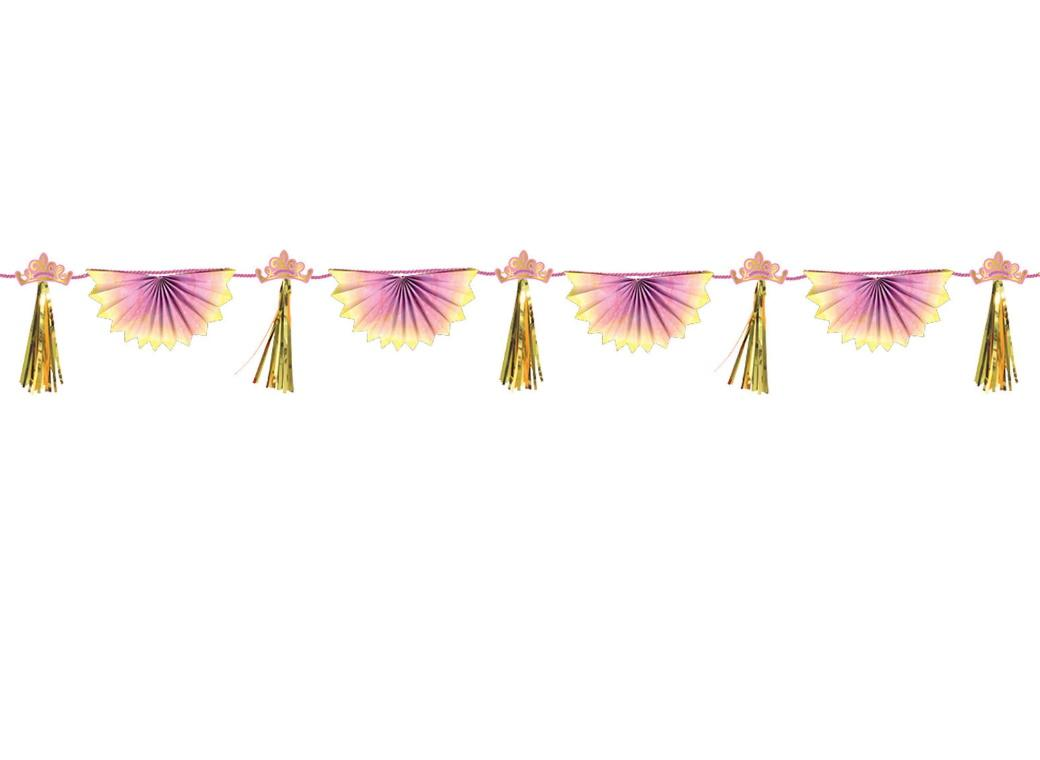 Disney Princess Paper Fan & Tassel Garland