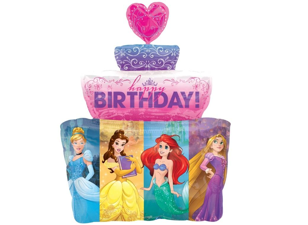 Disney Princess SuperShape Foil Balloon