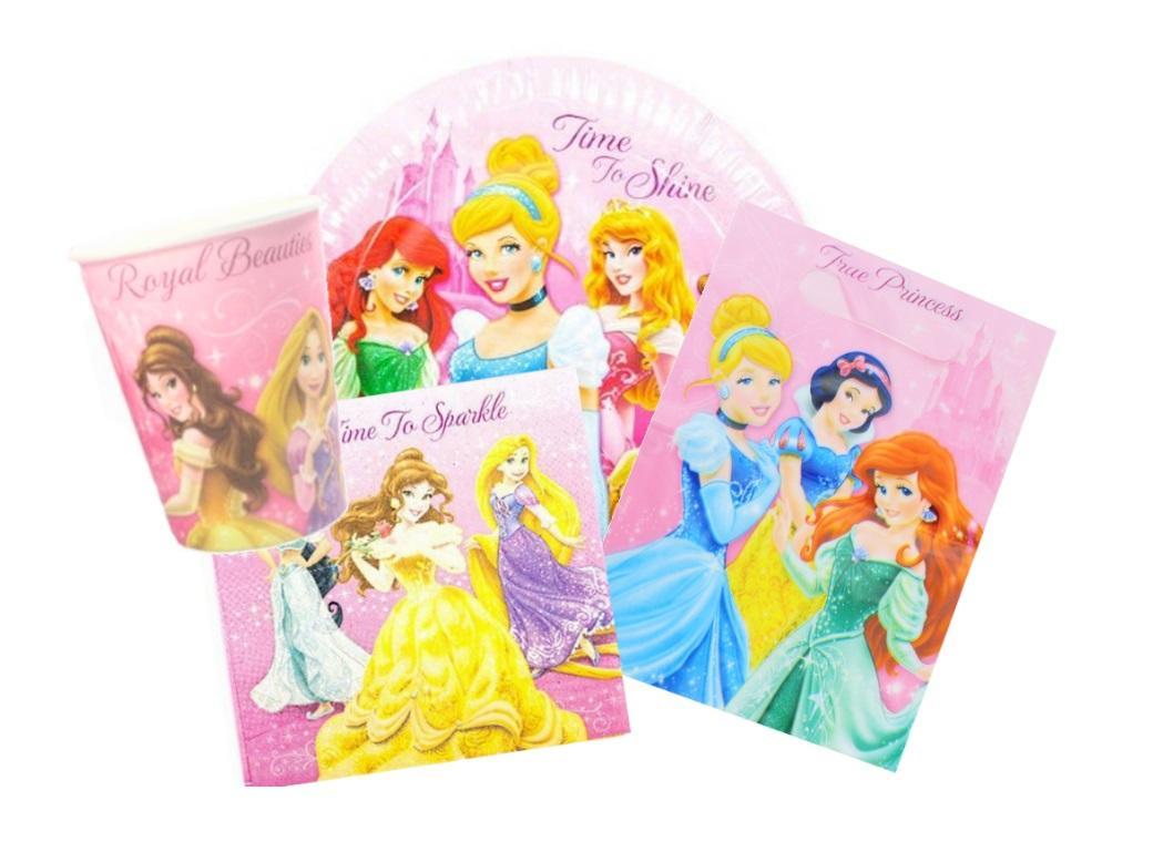 Disney Sparkle Princess Party Pack 40pce