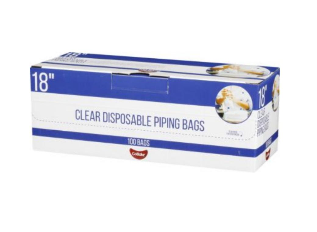 GB Disposable Icing Bags 100pk - 18in