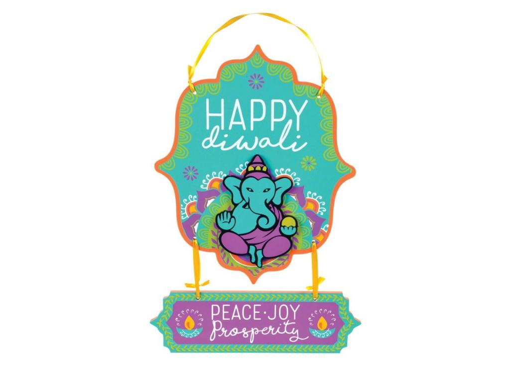 Happy Diwali Hanging Sign