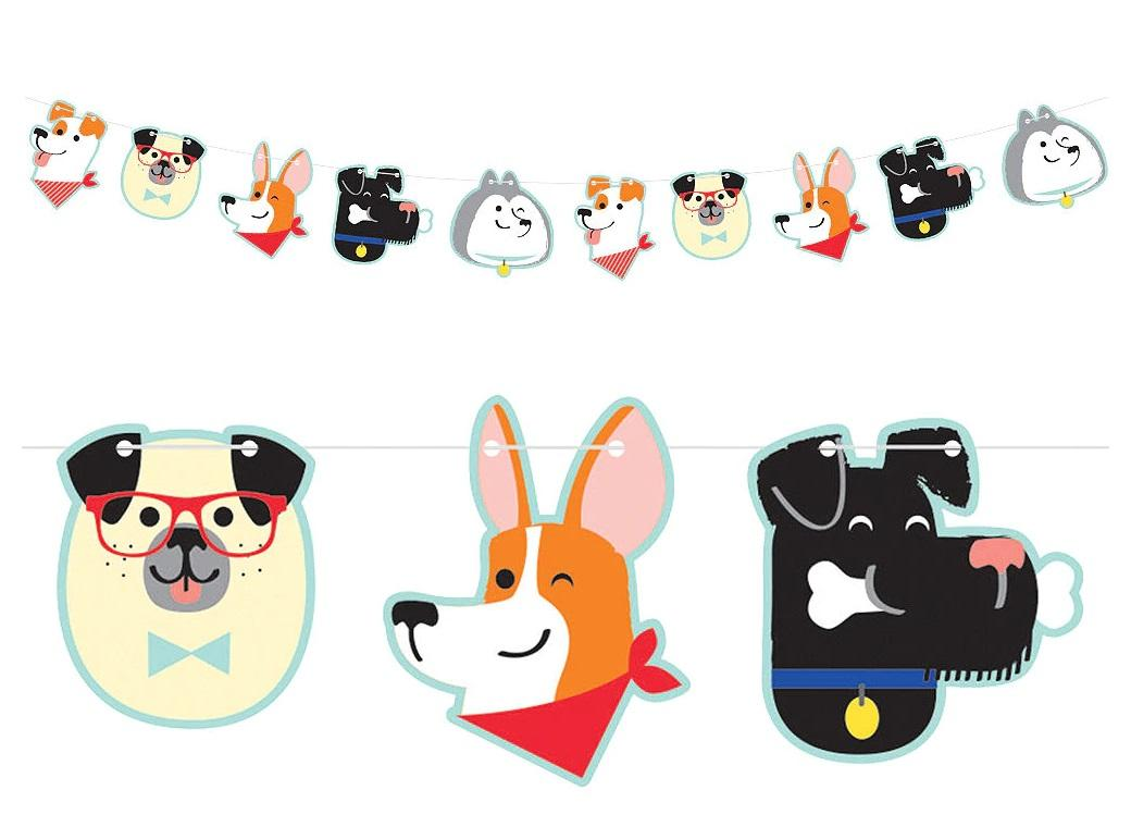 Dog Party Banner
