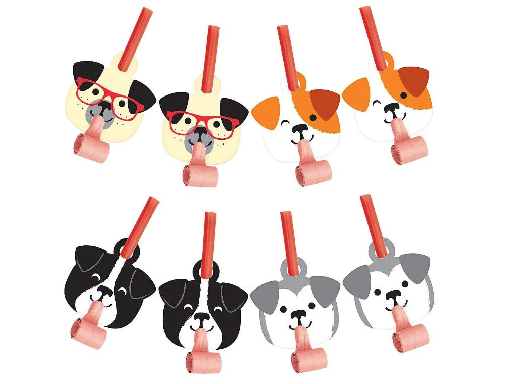 Dog Party Blowouts 8pk